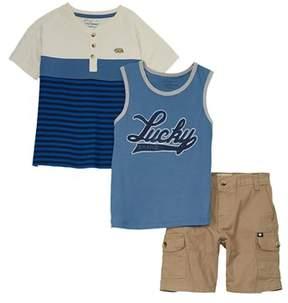 Lucky Brand Boys' 3pc Set.