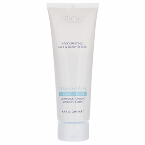 PRIORI Advanced AHA Invigorating Face and Body Scrub
