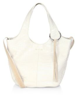 Elizabeth and James Finley Small Leather Shopper Bag