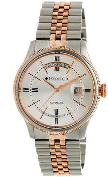 Heritor Vernon Mens Multicolor Bracelet Watch-Herhr5804