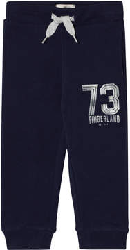 Timberland Kids Navy Printed Branded Sweat Pants