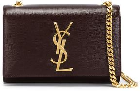 Saint Laurent small 'Monogram' crossbody bag - RED - STYLE