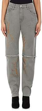Each X Other Women's Embellished Distressed Jeans