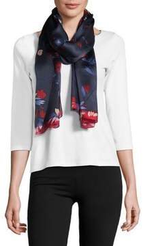 Vince Camuto Japanese Wallpaper Silk Scarf