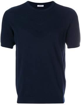 Dirk Bikkembergs short-sleeve fitted top