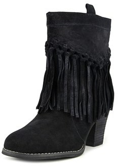 Sbicca Sound Women Round Toe Leather Ankle Boot.