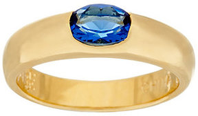 Elizabeth Taylor As Is The ElizabethTaylor Simulated Sapphire Stack Gem Ring