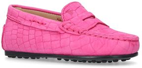 Tod's Embossed Gommino Nuovo Driving Shoes