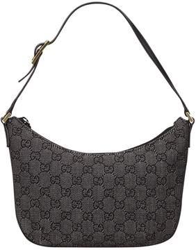 Gucci GG cloth handbag - BLACK - STYLE
