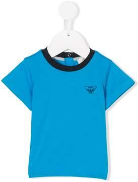 Emporio Armani Kids logo print T-shirt
