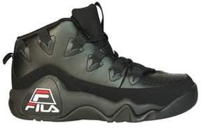 Fila Men's Black Leather Hi Top Sneakers.