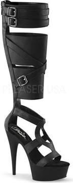 Pleaser USA Delight 600-43 Knee High Platform Boot (Women's)