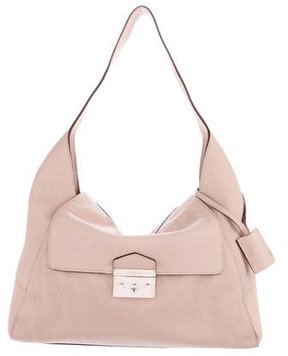 Calvin Klein Collection Grained Leather Hobo