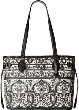 Brighton Amara Scarf Tote Tote Handbags
