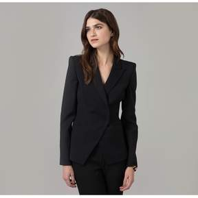 Amanda Wakeley   Black Luxe Tailoring Jacket   Xl   Black