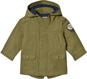 Mayoral Khaki Hooded Parka