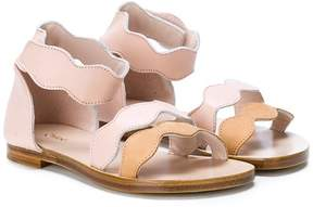 Chloé Kids touch-strap sandals