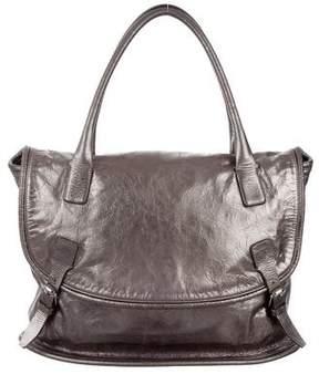 Jil Sander Metallic Flap Bag
