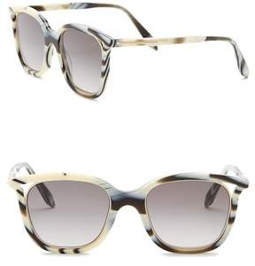 Victoria Beckham 50mm Cut Away Square Sunglasses