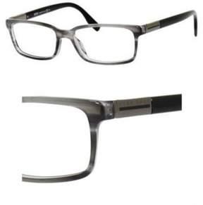 HUGO BOSS Eyeglasses Boss Black 604 02DB Gray Striped