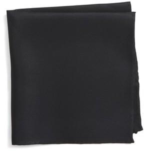 Nordstrom Men's Solid Silk Pocket Square