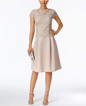Alex Evenings Lace A-Line Dress