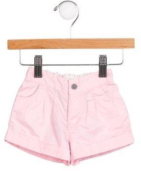 Petit Bateau Girls' Mid-Rise Mini Shorts w/ Tags