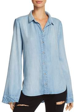 Bella Dahl Bell Sleeve Button-Down Shirt