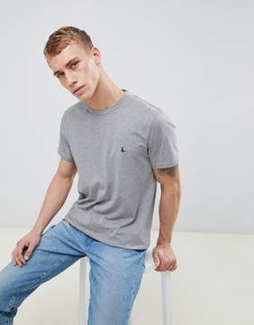 Jack Wills Sandleford T-Shirt In Gray Marl