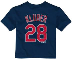 Majestic Baby Cleveland Indians Corey Kluber Name and Number Tee