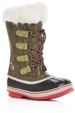 Sorel Girls' Youth Joan of Arctic Boots - Little Kid, Big Kid