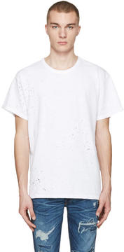 Amiri White Shotgun T-Shirt