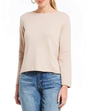 Chelsea & Violet Cropped Bell Sleeve Sweater