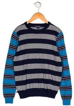 Brooks Brothers Boys' Stripe Knit Sweater