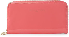 adrienne vittadini Coral Snap & Zip Wallet