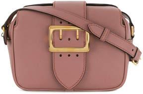 Burberry buckle plaque shoulder bag - PINK & PURPLE - STYLE
