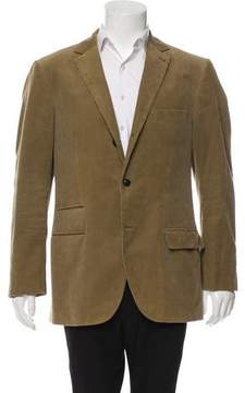Michael Bastian Corduroy Two-Button Blazer