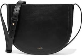 A.P.C. Juliette Leather Shoulder Bag - Black