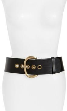 Frye Women's Wide Leather Belt