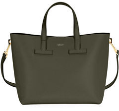 Tom Ford T Tote Crossbody Mini Saffiano Bag