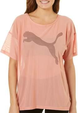 Puma Womens Dancer Mesh Top