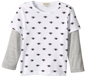 Kenzo Eyes Long Sleeves Tee Shirt Boy's T Shirt