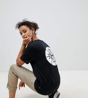 Converse Cons Skate Logo Back T Shirt In Black