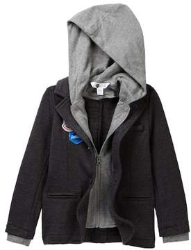 Petit Lem Jacket with Hood (Toddler & Little Boys)