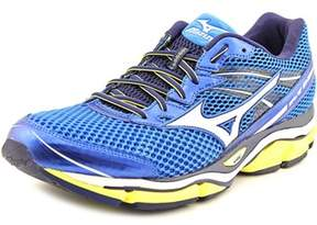 Mizuno Wave Enigma 5 Men Round Toe Synthetic Blue Running Shoe.