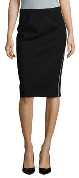 Ellen Tracy Ponte Pencil Skirt