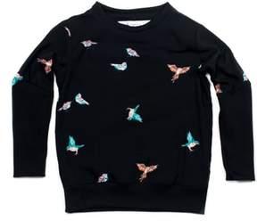 Hudson + Hobbs Summer Bird Woven Shirt