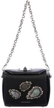 Alexander McQueen Embellished Lambskin Leather Bag
