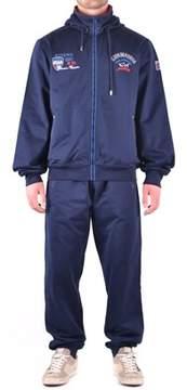 Paul & Shark Men's Blue Cotton Jumpsuit.
