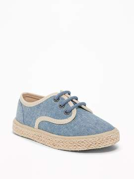 Old Navy Chambray Espadrilles for Toddler Boys